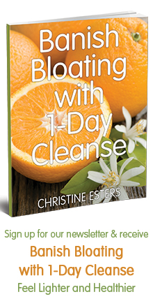 Sign up for our newsletter & receive Banish Bloating with 1-Day Cleanse: Feel Lighter and Healthier